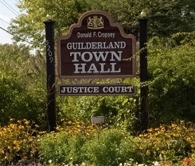Guilderland Town Hall Sign - Guilderland Demographics